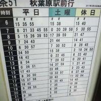 Photo taken at 都営バス 駒込駅南口 by ring2chang on 11/6/2012