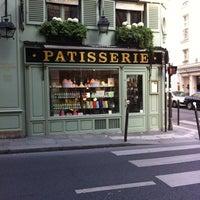 Photo taken at Ladurée Paris Bonaparte by Christine S. on 7/6/2013