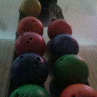 Photo taken at Cosmic Bowling by Merve B. on 7/3/2013