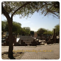Photo taken at Salwa Park by Atep A. on 2/18/2013