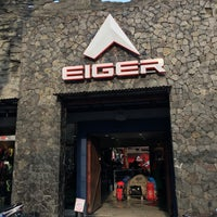 Photo taken at Eiger Adventure Store by Atep A. on 2/25/2016