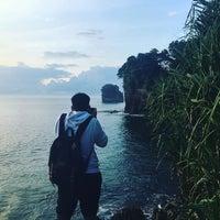 Photo taken at Pantai Batu Karas by Atep A. on 1/7/2017