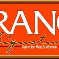 Photo taken at Orange Signature Salon by Chris Lawrence S. on 4/21/2013
