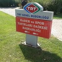 Photo taken at TRT Haber Ve Spor Dairesi Başkanlığı by ▶Ceren A. on 9/10/2014