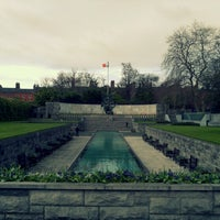Photo taken at Garden of Remembrance by Michael D. on 5/5/2013
