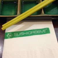 Photo taken at SushiGroove by Ferds F. on 1/27/2014