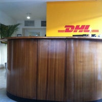 Photo taken at DHL Courier by AnaMercedes N. on 10/22/2013