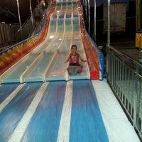 Photo taken at Luna Park Marina Carrara by Serena M. on 7/27/2013