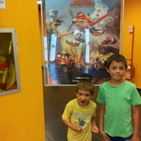 Photo taken at Cinema Multisala Movie Planet by Serena M. on 9/5/2014