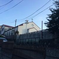 Photo taken at 鵠沼めぐみルーテル幼稚園 by yuki k. on 7/14/2014