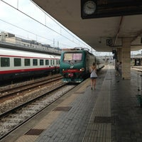 Photo taken at Padua Railway Station (QPA) by Gokhan A. on 7/21/2013