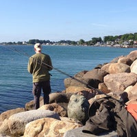 Photo taken at Taarbæk Havn by Diana O. on 7/6/2013