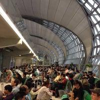 Photo taken at Thai Airways Flight TG 676 BKK-NRT by Toshinori on 8/30/2014
