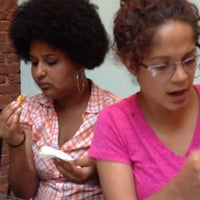 Photo taken at Queen of Sheba Ethiopian Cuisine by Lucy Z. on 7/10/2013