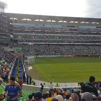 Photo taken at Territorio Santos Modelo Estadio by Julio J. on 7/31/2017