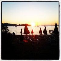 Photo taken at Spiaggia Bagnaia by Massimo D. on 8/12/2013