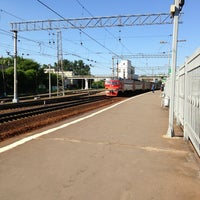 Photo taken at Ж/Д станция Фили by Tatiana T. on 6/5/2013