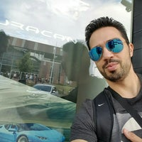 Photo taken at Lamborghini Warszawa by John S. on 6/10/2016