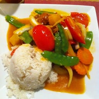 Photo taken at Sticky Rice Thai by Katie H. on 9/14/2011