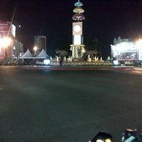 Photo taken at Bundaran Gajah (Tugu Adi Pura) by Arum S. on 7/1/2012