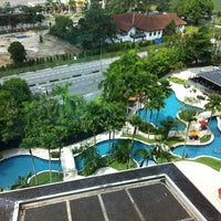 Photo taken at Thistle Hotel Johor Bahru by sHaZ on 3/25/2012