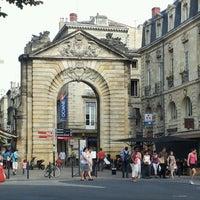 Photo taken at Porte Dijeaux by Delphine S. on 8/22/2012