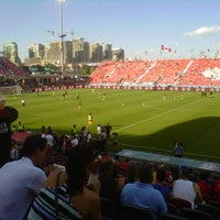 Photo taken at BMO Field by Liz D. on 6/30/2012