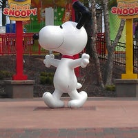 Photo taken at Camp Snoopy by Charlotte J. on 4/21/2013