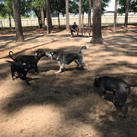 Photo taken at Daffin Park Dog Park by Adriana N. on 7/4/2017