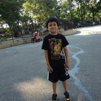 Photo taken at Central Park - 96th Street Playground by Byrito P. on 6/17/2013