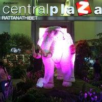 Photo taken at CentralPlaza Rattanathibet by ยุ้ย S. on 6/21/2013