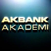 Photo taken at Akbank Akademi by yasin y. on 2/16/2014
