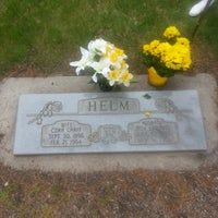 Photo taken at Provo City Cemetery by Russ G. on 5/27/2013