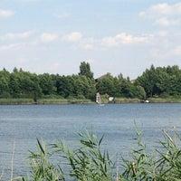 Photo taken at Jezioro Ługowskie by Kamil B. on 8/10/2013