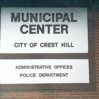 Photo taken at Crest Hill City Hall by Kailyn H. on 7/25/2013