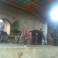 Photo taken at Auditorio Iglesia Cristiana Filadelfia Central by Carlos M. on 4/28/2013