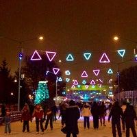 Photo taken at Каток ЦПКиО им. Горького by Lika M. on 12/31/2016