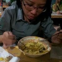 Photo taken at Soto daging lamongan (soto dok) by Edy K. on 10/24/2012
