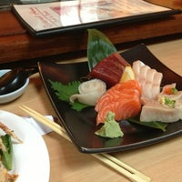 Photo taken at Hama Sushi by warrent s. on 6/29/2013