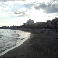 Photo taken at Pista De Les Botigues De Sitges. by Marisol M. on 9/10/2013