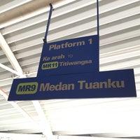 Photo taken at RapidKL Medan Tuanku (MR9) Monorail Station by Gilbert G. on 11/19/2017