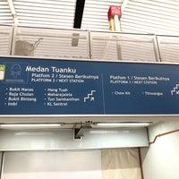 Photo taken at RapidKL Medan Tuanku (MR9) Monorail Station by Gilbert G. on 4/22/2018