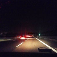 Photo taken at Raccordo A4 - A58 / (TO-TR) - (Tang. est. esterna di Milano) by Silvio T. on 9/21/2014