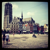 Photo taken at Grote Markt by Dirk D. on 7/14/2013