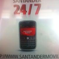 Photo taken at Banco Santander by Jose Luis on 1/25/2013