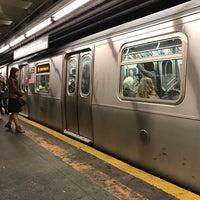 Photo taken at MTA Subway - 23rd St (F/M) by Jeff on 11/1/2016
