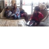 Photo taken at Landwer Café by LinkTree on 1/11/2014