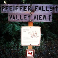 Photo taken at Pfeiffer Big Sur State Park by Birch Co on 10/3/2012