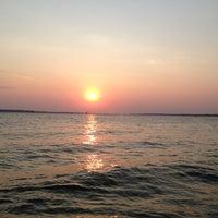 Photo taken at Dam Over Lake Grapevine by Sheilon K. on 7/5/2013