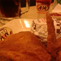 Photo taken at A & W by WouLand P. on 12/21/2013